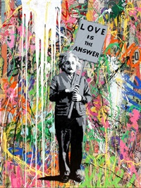 einstein by mr. brainwash