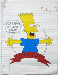 bart art #1 by michael scoggins