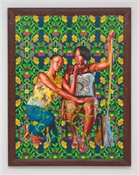jupiter and thetis (the world stage: haiti) by kehinde wiley