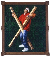 st. andrew by kehinde wiley