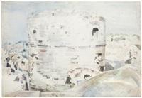 landscape at rye by paul nash