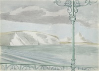 no.2 the parade swanage by paul nash