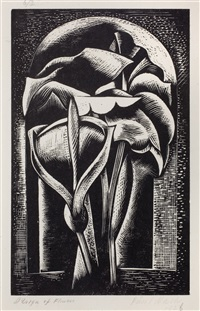 design of flowers by paul nash
