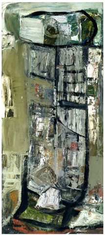 anticoli snow by peter lanyon