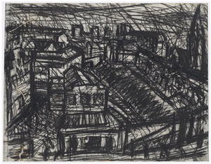 dalston junction by leon kossoff