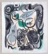les hesperides by andré masson
