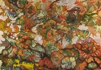 fall landscape by hyman bloom