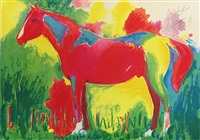 northern dancer by peter max