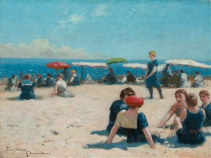 brighton beach by frank russell green
