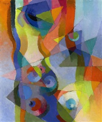 synchromy, kyoto by stanton macdonald-wright