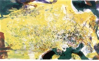 in honour of the picture & of poetry (272) by zao wou-ki