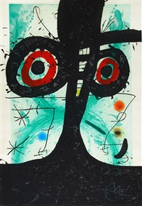 le vieil irlandais (the old irish) by joan miró