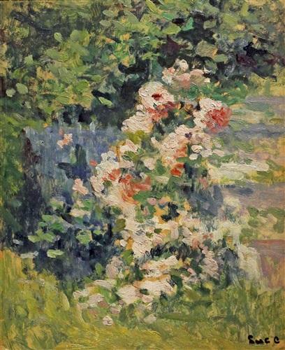 etude florale by maximilien luce