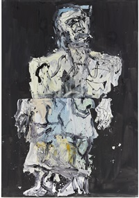 malermantel, frank by georg baselitz