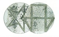 hexagon and pentagon by monir shahroudy farmanfarmaian