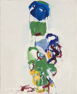 why nature hofmann, mitchell, pousette-dart, stamos by joan mitchell