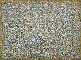 byzantine night by richard pousette-dart