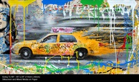 going to new york by mr. brainwash