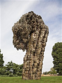 bent lace by ursula von rydingsvard