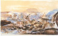 in honour of the picture & of poetry 280 by zao wou-ki