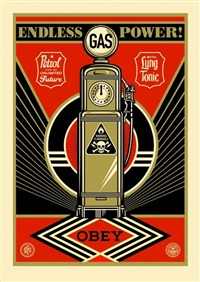 endless power from the provocateurs print portfolio by shepard fairey