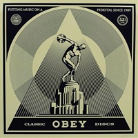 classic discs by shepard fairey