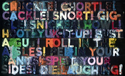 mel bochner going out of business and other recent paintings on velvet by mel bochner