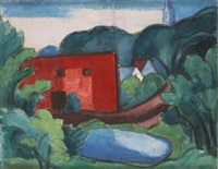 south braintree, massachussetts by oscar florianus bluemner