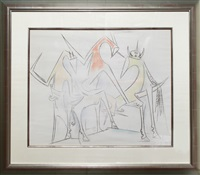 untitled by wifredo lam