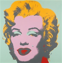 marilyn monroe (f. & s. ii.23) by andy warhol