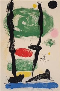 the watchers by joan miró