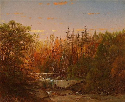early evening by william louis sonntag