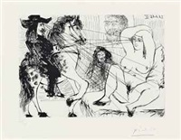 exchange de regards by pablo picasso
