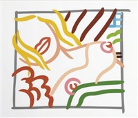 new bedroom blonde doodle by tom wesselmann