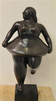 ballerina by fernando botero