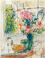 nature morte by marc chagall