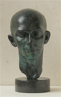 head of dancer (harald kreutzberg) by richmond barthe