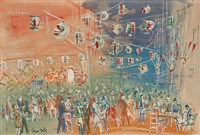bal populaire by jean dufy
