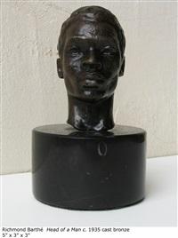 head of a man by richmond barthe