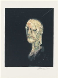 the life mask of william blake by francis bacon