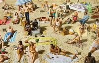 crowd #3 (pelican beach) by alex prager