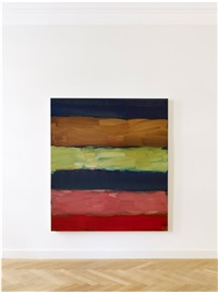 landline red 6.14 by sean scully