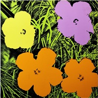 flowers, fs ii.67 by andy warhol