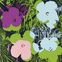 flowers, fs ii.64 by andy warhol