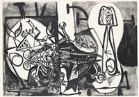homards et poissons by pablo picasso