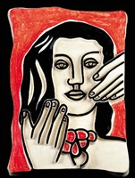 untitled (la grande margot) by fernand léger
