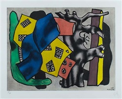 la racine grise (the gray root) by fernand léger