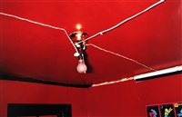 greenwood, mississippi (red ceiling) by william eggleston