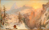 winter by jasper francis cropsey