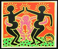 fertility #4 by keith haring